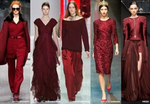 burgundy bordeaux fw 2014 15 color trend vita su marte