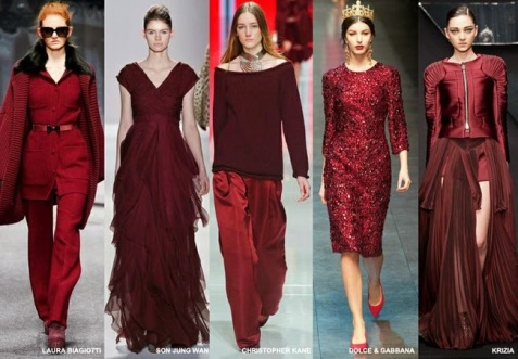 burgundy bordeaux fw 2014 15 color trend vita su marte