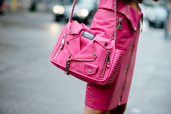 moschino total pink