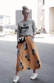 pineapple skirt